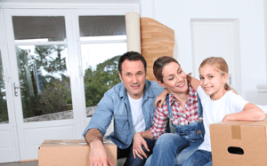 family happy with move
