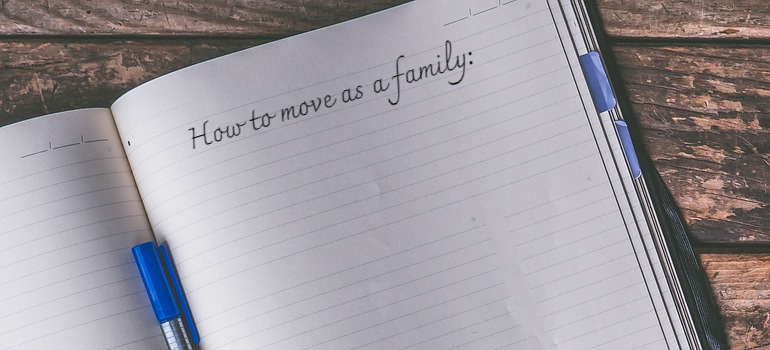 a plan you will write when Moving to Leeds AL with your family