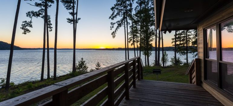 A lake in Alabama